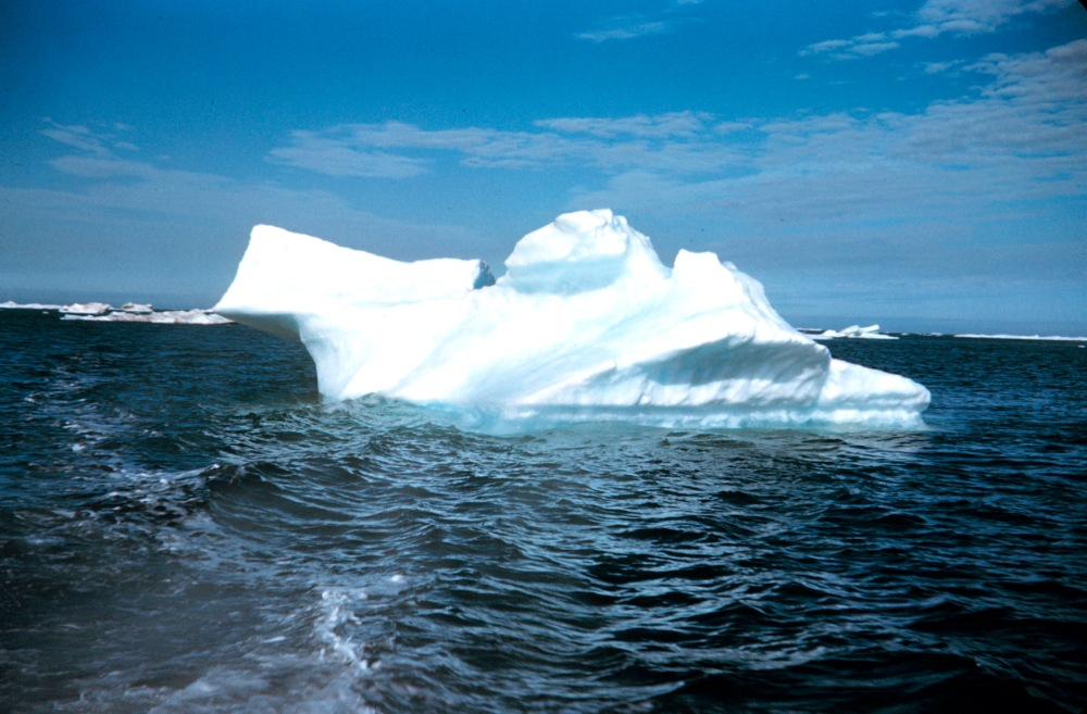 An iceberg n the Beaufort Sea in the Alaska North Slope during the Arctic summer. Photo by NOAA.