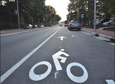 Bike Lanes in Raleigh