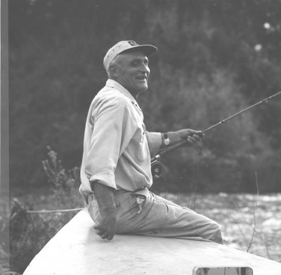 Fishing the Deschutes River. Photo by USBLM.
