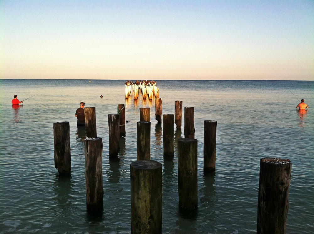 Early morning fishing. Naples, Florida. Photo by Lauren Daley