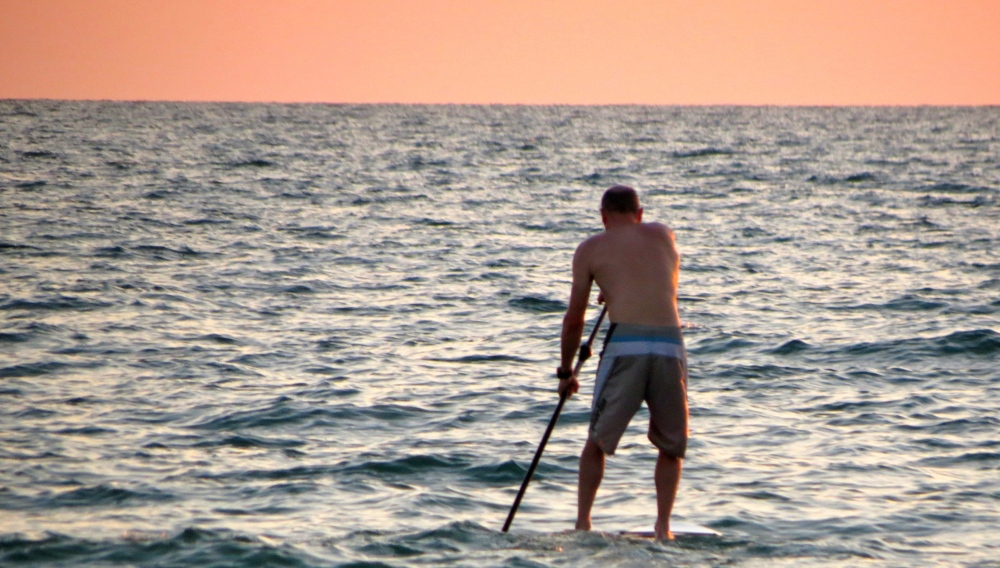 Stand-up Paddleboarding in Naples, Florida. Photo by Lauren Daley.