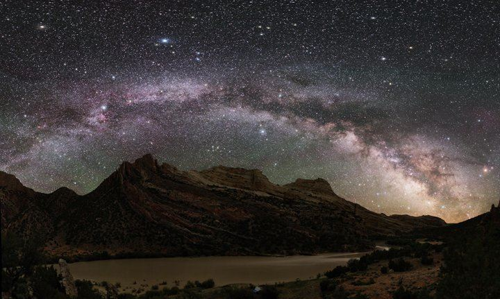 The Milky Way over Mitten Park By NPS Night Sky Program